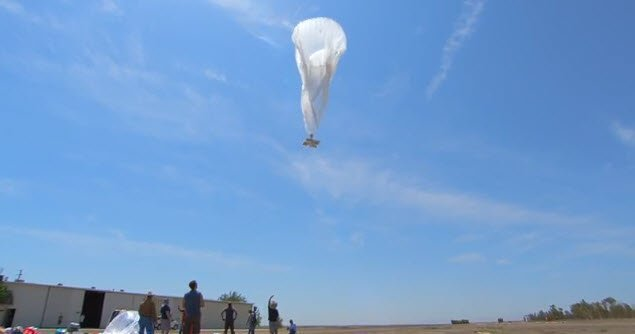 Google is to shut down its Project Loon internet balloon service