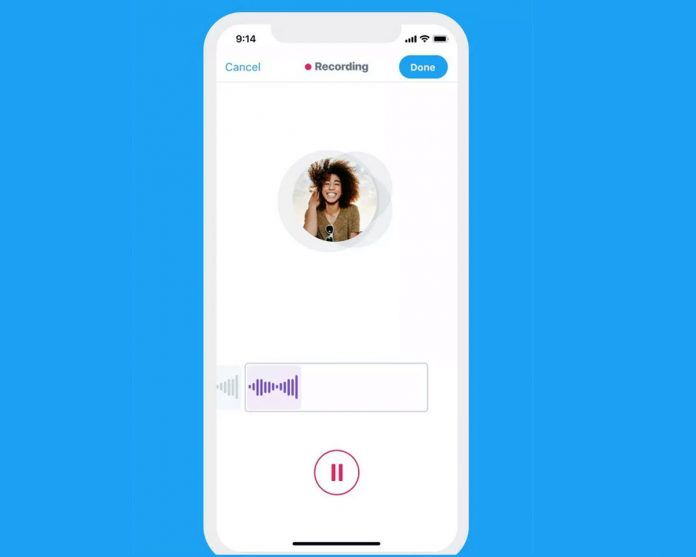 Twitter launches audio tweets