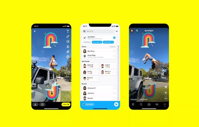 Snapchat is launching its answer to TikTok